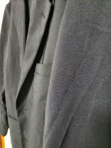 ジャケットにシワができてしまった