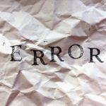 【解決済み】WordPressのGutenbergで「更新に失敗しました」「公開に失敗しました」