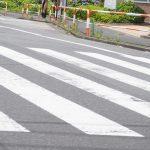 滑る横断歩道