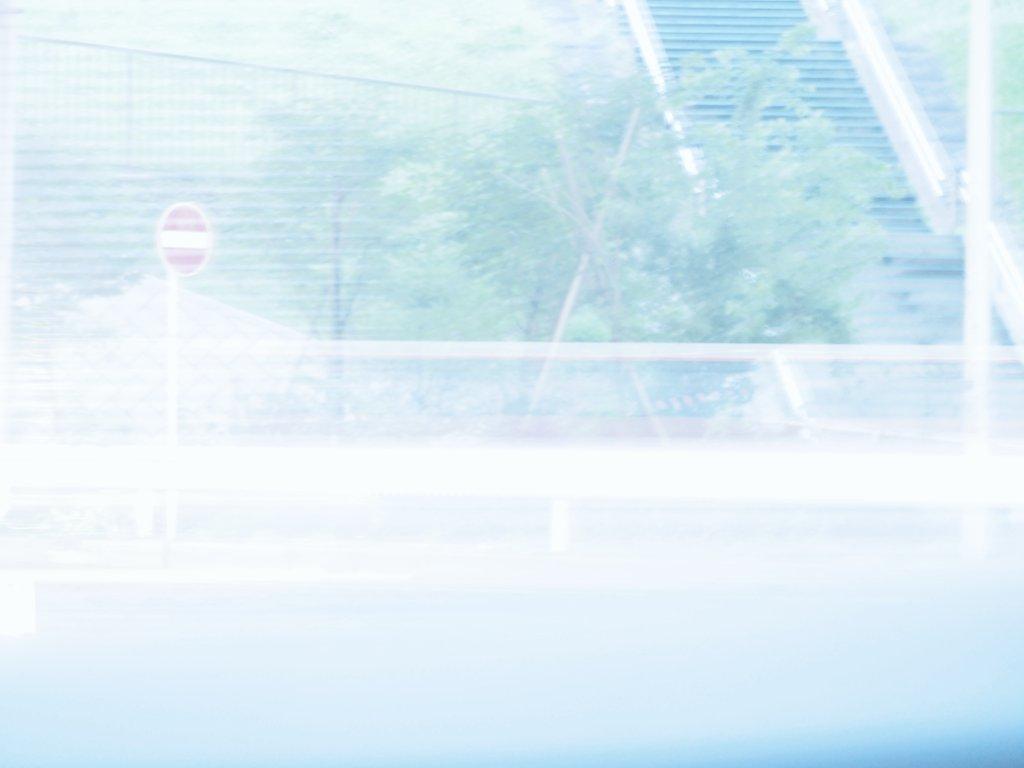 街の青の写真